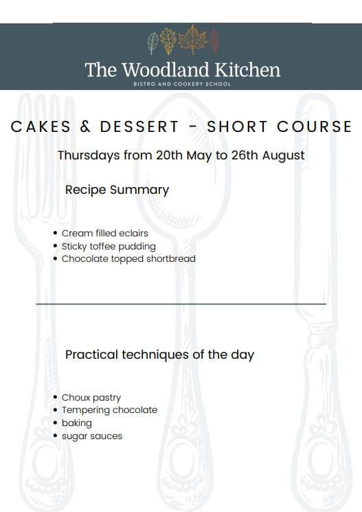 Short Course Cakes & Desserts
