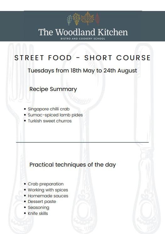 Short Course Street Food