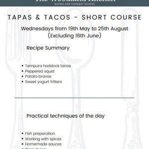 Short Course Tapas Tacos