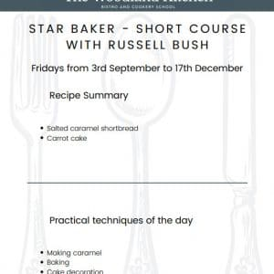 Short Course Star Baker with Russel Bush